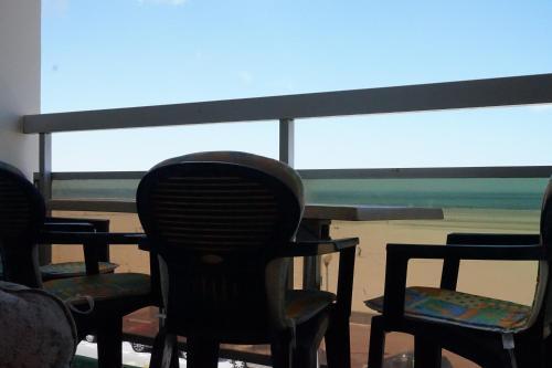 Balcon ou terrasse dans l'établissement Le Grand Large