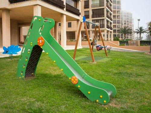 Children's play area at Apartment Edificio Playamar II