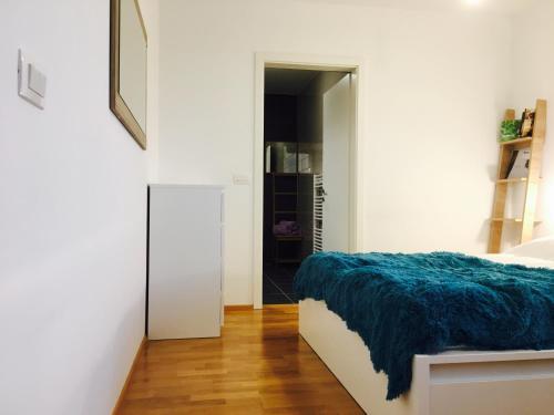 Postelja oz. postelje v sobi nastanitve Cosy two-floor apartment Vurnikov trg