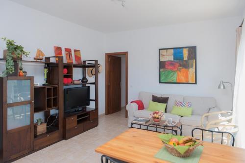 Area soggiorno di Oasis de Nazaret