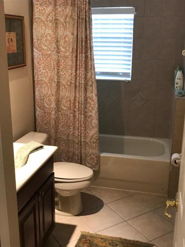 Um banheiro em Private room