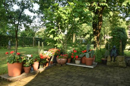 Een tuin van Beeldend Buiten