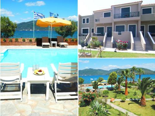 Πισίνα στο ή κοντά στο Ariadnes Holiday Accommodation II