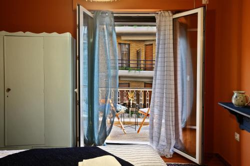 Ein Balkon oder eine Terrasse in der Unterkunft Athens Centre Apartment