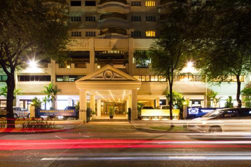 Tòa nhà nơi khách sạn căn hộ tọa lạc