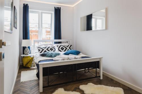 Lova arba lovos apgyvendinimo įstaigoje oompH Warsaw Old Town Apartment