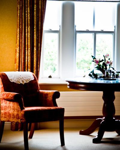 Кът за сядане в Ardmore Country House