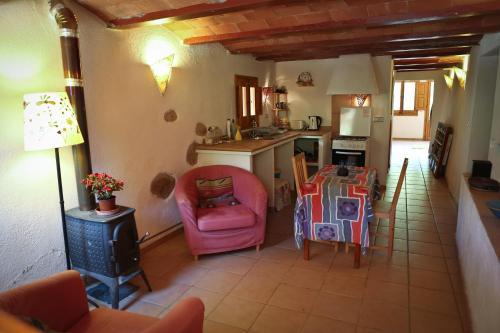 Una cocina o zona de cocina en Can Parròquia