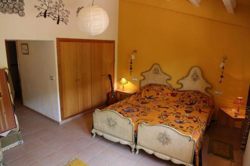 Cama o camas de una habitación en Can Parròquia
