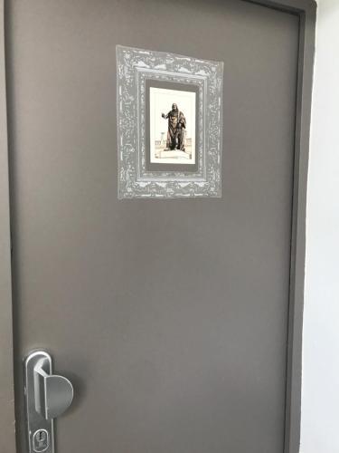 A bathroom at F2 STANISLAS