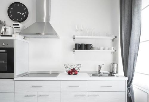 Een keuken of kitchenette bij Sole e mare