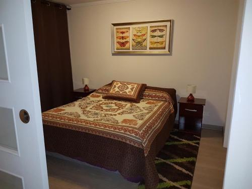 Cama o camas de una habitación en Hector Crisostomo