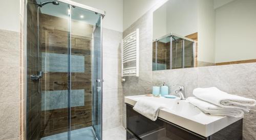Kúpeľňa v ubytovaní Heaven Eleven Apartments - Old Town