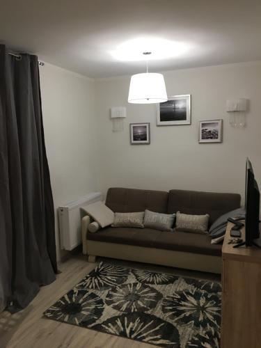 Część wypoczynkowa w obiekcie Apartament JULIA