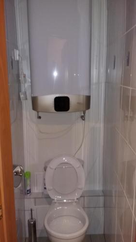 A bathroom at Hostel Teriba
