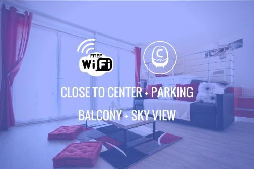 Logo ou pancarte de l'appartement
