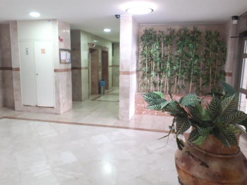 The lobby or reception area at keren apartment