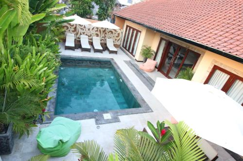 A view of the pool at Exquisito Villa or nearby