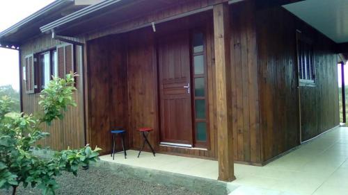 The facade or entrance of Casa para Lazer