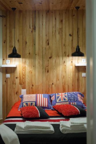 Zona de estar de Beja Hostel
