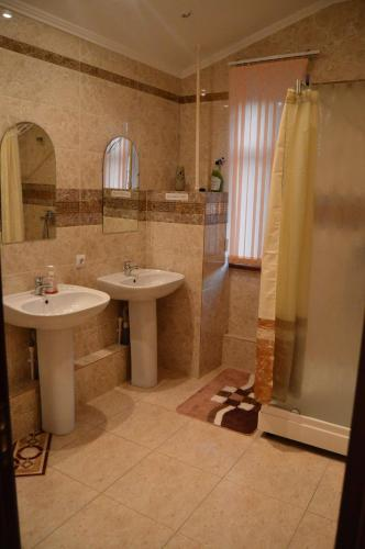Ванная комната в Хостел Центральный на Гоголя
