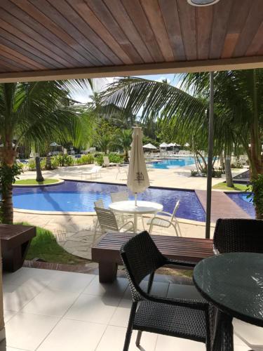 The swimming pool at or near Nannai Residence Muro Alto