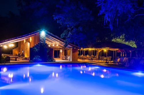 The swimming pool at or near Croc Valley Camp