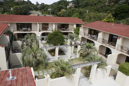A bird's-eye view of Onetangi Beach Apartments