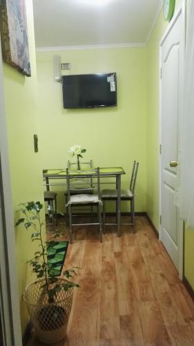 Zona de estar de Departamento Gimar Choroy
