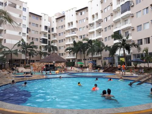 The swimming pool at or near Thermas Paradise Rio Quente