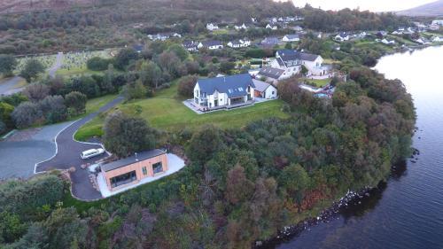 วิว Air an Oir - Skye Self Catering จากมุมสูง