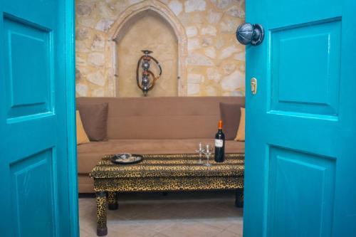 A bathroom at Casa Panstel