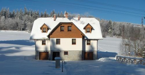 Apartmany Kolb v zimě