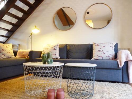 Zona de estar de Casa Rural Cabeza Lobera