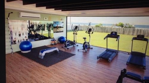 Gimnasio o instalaciones de fitness de Apartamento no Ingleses Acquamar