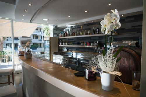 Salone o bar di Casa Del Mar
