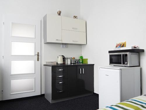 A kitchen or kitchenette at Apartments Ostrava Vítkovice