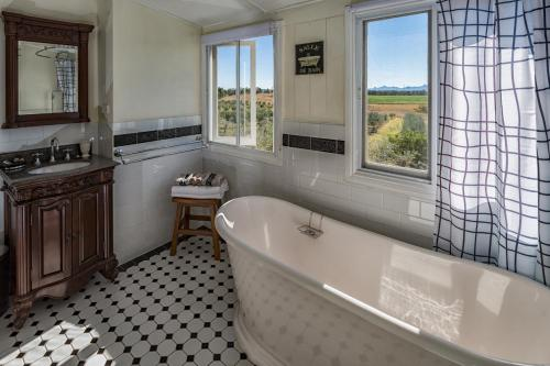 A bathroom at The Grove Cottage