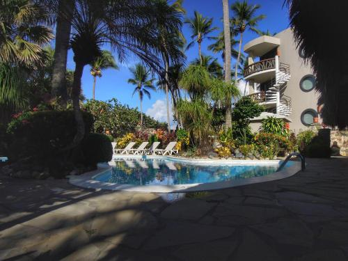 The swimming pool at or near El Magnifico