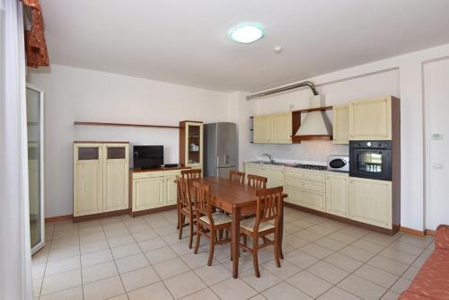 Cucina o angolo cottura di Hotel Villa Olga