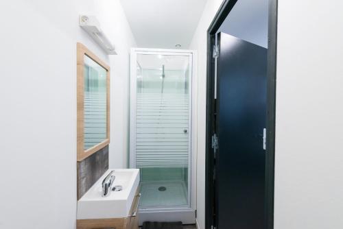 A bathroom at Lkp