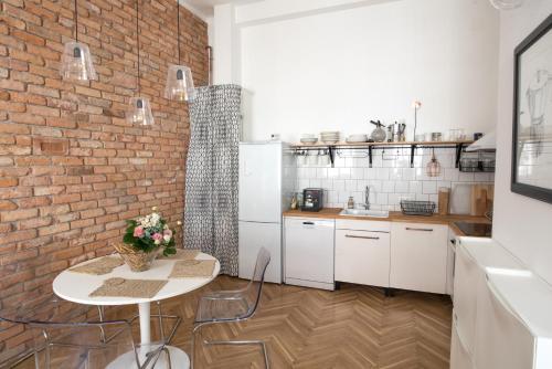 """城市""""塔拉比""""美好公寓廚房或簡易廚房"""