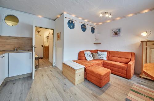 אזור ישיבה ב-Appartement Milly by HolidayFlats24
