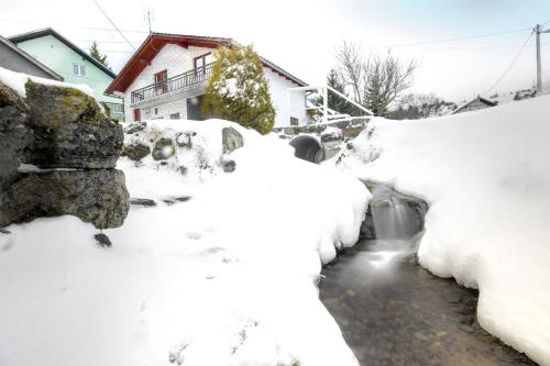 Apartment Radoš during the winter