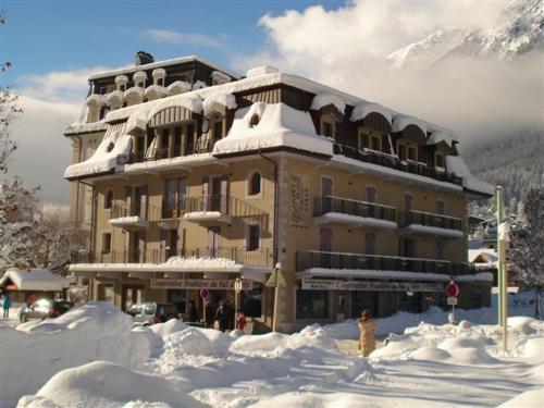 Quartz-Montblanc during the winter
