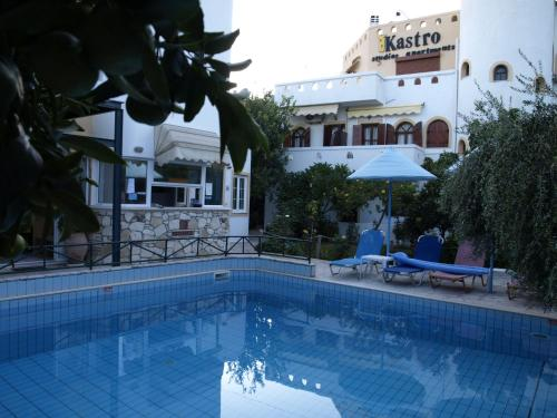 The swimming pool at or near Kastro Studios Apartments