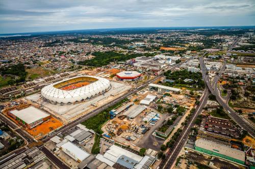 A bird's-eye view of Apartamento Condomínio Arena Amazonia