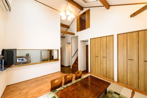 ゲストヴィラ箱根湯本201にあるキッチンまたは簡易キッチン