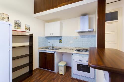 A cozinha ou cozinha compacta de Nellina's House