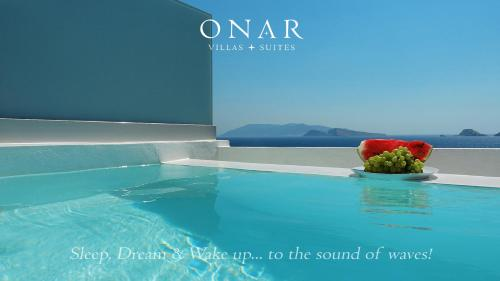 The swimming pool at or near Onar Suites & Villas
